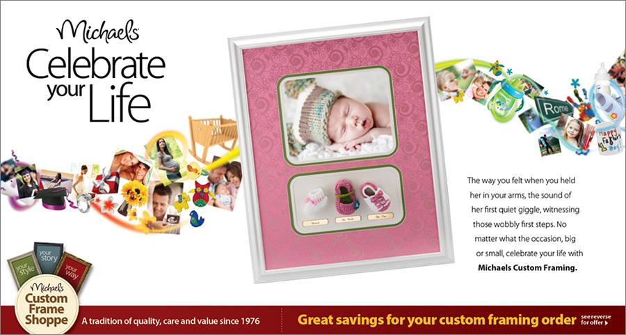Michaels Custom Framing Campaign - Annabel Nguyen — Design Portfolio