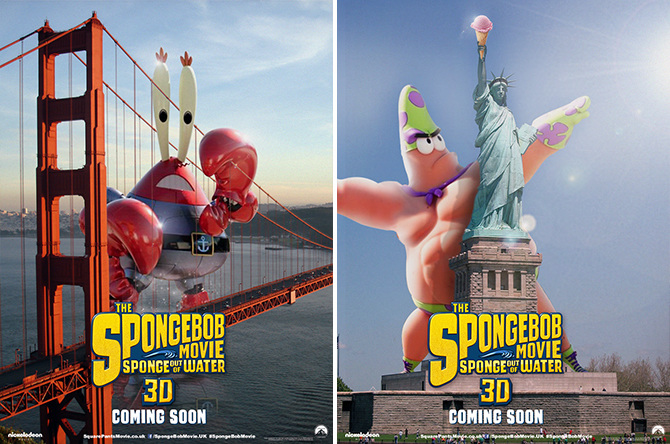 Spongebob Character Banners - David Ryan Robinson ...
